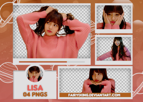 [PNG PACK #600] Lisa - BLACKPINK by fairyixing