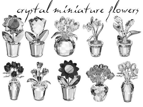 crystal miniature flowers by sapphire88