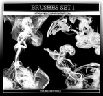 #1 Smoke Brushes by IwillGoUp