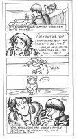 Persona 4 Comic by puking-mama