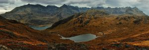 Skye, Cuillin teaser pano by younghappy