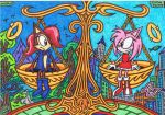 Sally Acorn * Amy Rose - The Balance Of Reputation by AceOfSpeed94