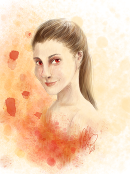 Molly Hooper by Caljo