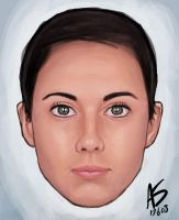 Girl's Face by alexsollazzo