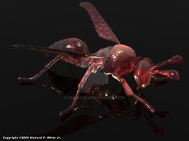 Angry Robo Wasp by SEspider