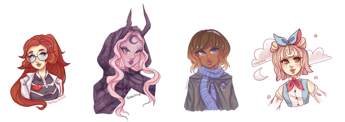 Busts by T-Recksie