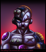 Mecha Freeza Portrait by DeadlyChestnut