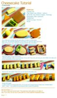 Polymer Clay : Cheesecake Tutorial by CraftCandies