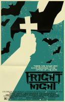 Fright Night poster by markwelser