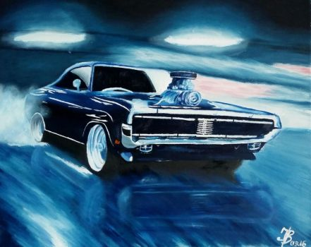 Muscle-Car by DivinoArtista