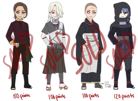 Male Naruto Adopts -CLOSED- by anniberri