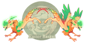 Easter Basket - Dracokai Companion Auction (CLOSE) by GentleLark