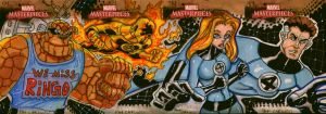 Marvel Masterpieces FF 2008 by PatCarlucci