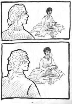 24h Comic 2014: A Dragon's Tale p.21 by SaxonVoter