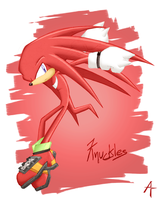 Colored Scan -Knuckles- by Eniotna