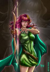 Clash of Clans  Lady Archer by mhondi007