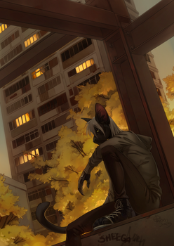 Evening of Friday the 13th by Orphen-Sirius