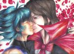 Kiss from a Rose (Johan x Fubuki) by Zephyr-of-Darkness