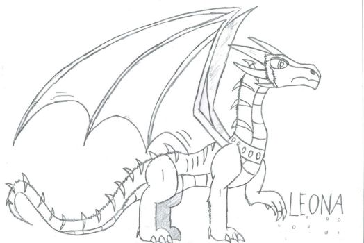 Leona Dragon by Viperwings