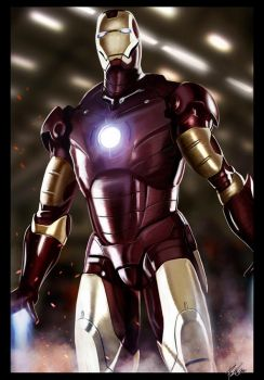 Iron man by PetuGee