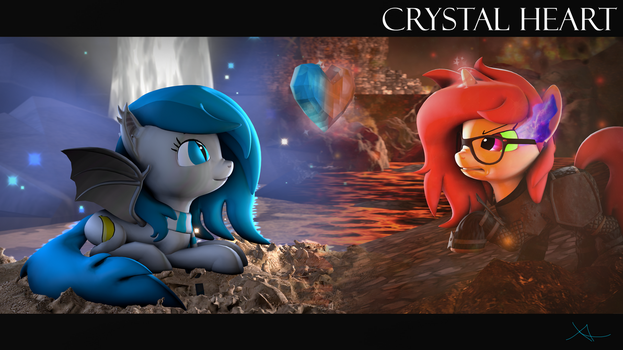 Crystal Heart by Xenia-Amata