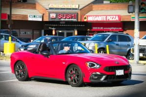 Abarth 124 Spyer by SeanTheCarSpotter