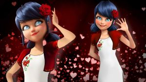 Marinette is going on a date by Chloeinka