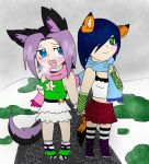 A friend and I: snow day by ShiningLegacy