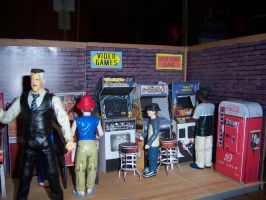 Kids in the Arcade by MisterBill82