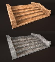 Laticis FREE Object - Stone Stairs by Laticis