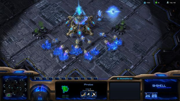 StarCraft II: ArcaneWater Overlay by Renacac