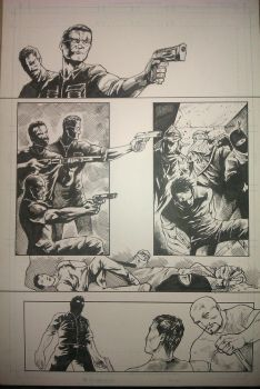 P.O.W Inked Page by JoeyLeeCabral