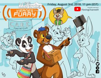 Viernes Furry: Megaplex Charity edition. by pandapaco