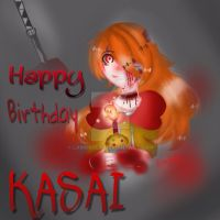 Happy Birthday Kasai Akuma !! by LamKarla