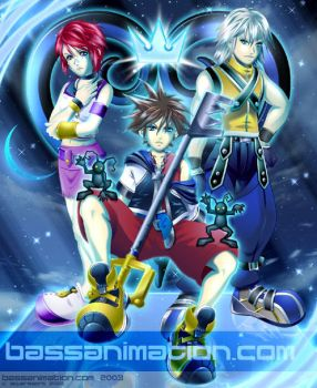 Kingdom Hearts by bassanimation