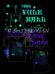Weird Sisters Yule Ball - Tee by Breogan