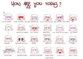 how are you today? by lyutz