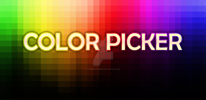 Color Picker Banner by danielathome19