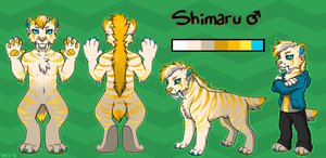 Shimaru Ref by TheWardenX3