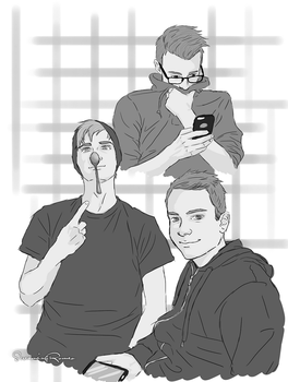 Doodle - Bros before ... oh you know :) by ScreamingRomeo