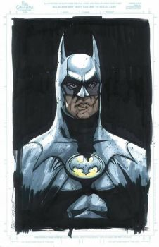 Puis Calzada Batman Michael Keaton  by Club-Batman