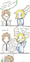 moments with France: Prussia called you a whore by AskBonnefoy
