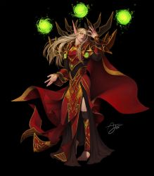 Kael'thas Sunstrider by Angju