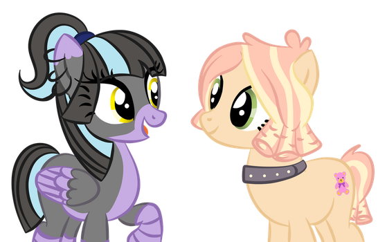 Tori and Plushie by MagicPebbles