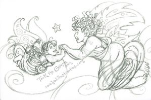 WIP - See? (Tock the Gnome) by rachelillustrates