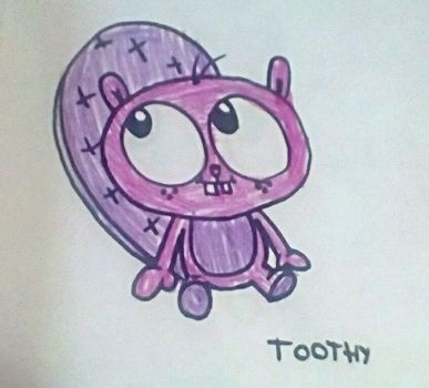 Toothy (HTF) by SquirrelCat1998V2