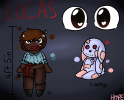 Lucas - Creepypasta Oc reference by HopefulEntertain
