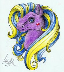 My Little Pony design by Luxray-Insanity