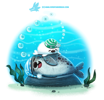 Daily Paint 1295. Seaesta by Cryptid-Creations