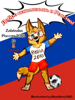 .:World Cup Mascots:. Zabivaka by MundienaSKD